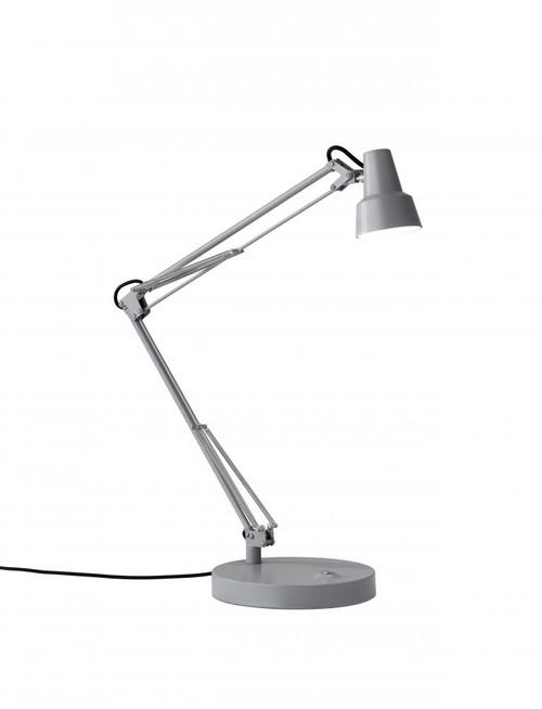 Adesso Quest LED Desk Lamp In Grey 3780-03