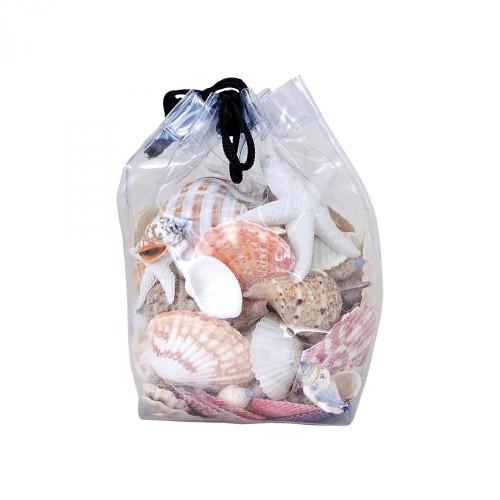 Pomeroy Bag Of Decorative Shells - Set Of 2 002366/S2