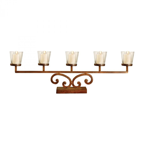 Pomeroy Prairie Votive Mantle Light - Set Of 2 560002/S2