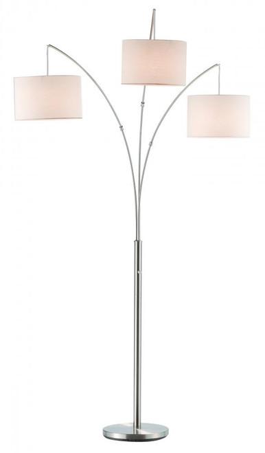 Adesso Alien Led Desk Lamp In Silver 3275 22