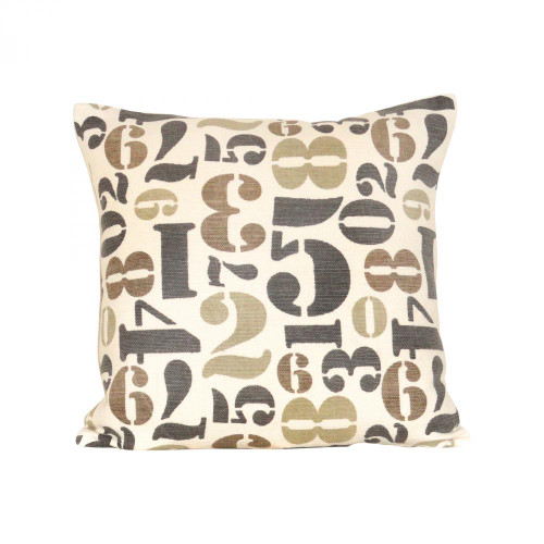 Pomeroy Numbers 20X20 Pillow 900129