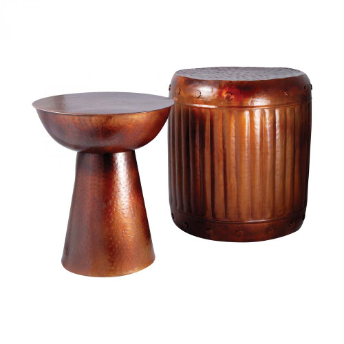Pomeroy Truffle Set Of 2 Table And Barrel Stool 951626