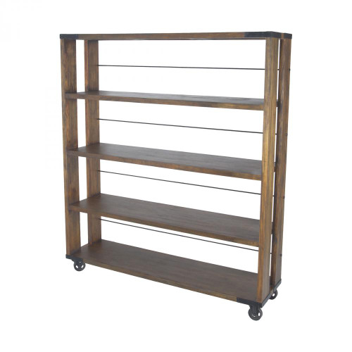 Sterling Industries Penn Shelving Unit In Farmhouse Stain - Large 71050