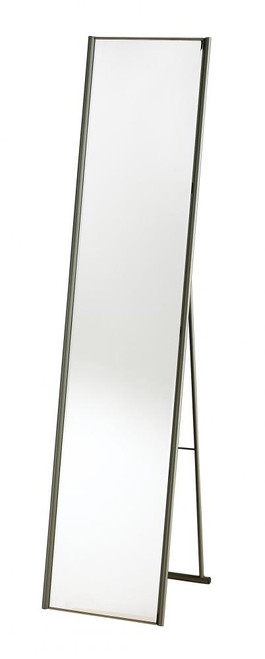 Adesso Alice Floor Mirror In Steel Wk2444-22