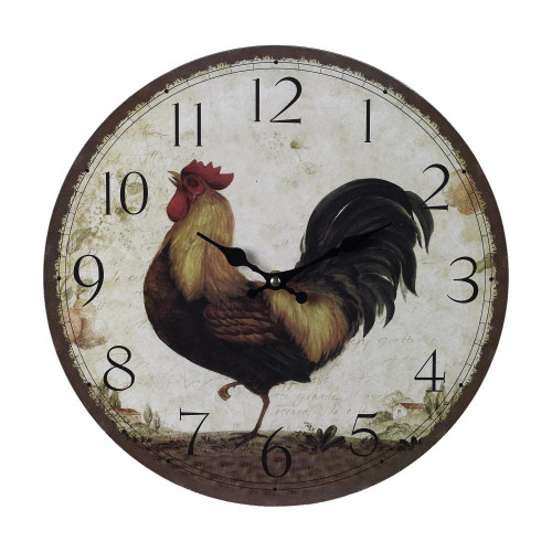 Sterling Industries Rooster Wall Clock 118-031
