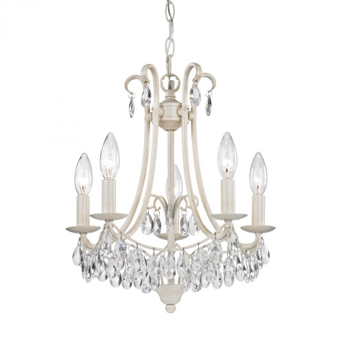 Sterling Industries Mini Chandelier 5 Light Clear Mini Chandelier-122-021