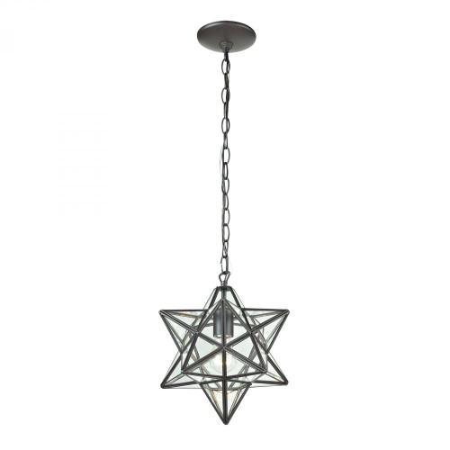 Sterling Industries 9 Inch Star Bronze Pendant Light-145-001