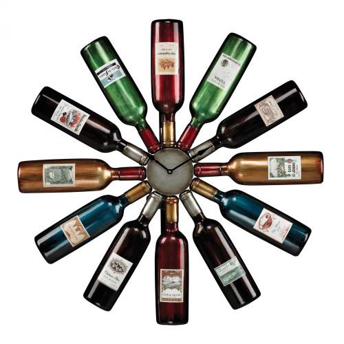 Sterling Industries Wine Bottle Clock 51-10085