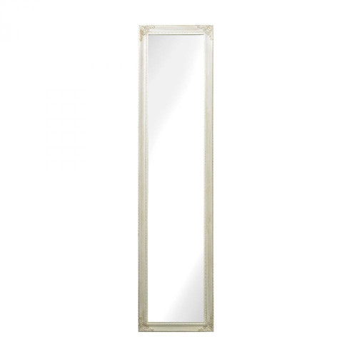 Sterling Industries Masalia Floor Mirror In Antique White 6100-015