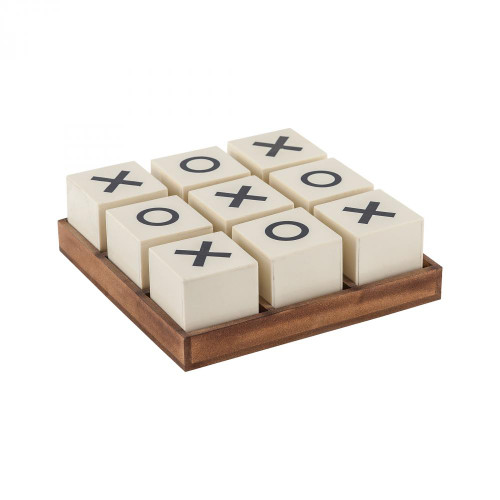 Sterling Industries Crossnought Tic-Tac-Toe Game 8903-048
