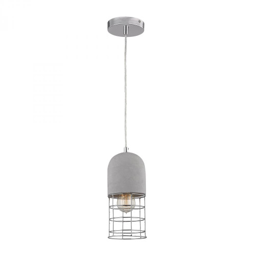 Sterling Industries Wardenclyffe Nickel Pendant Light-D3183