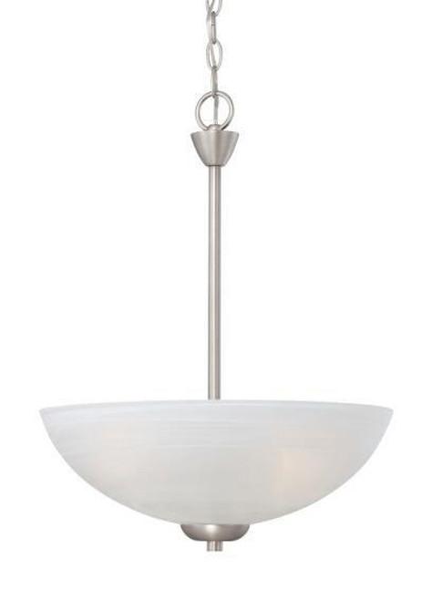 Thomas Tia Matte Nickel Pendant Light-190058117