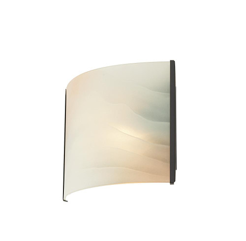 Alico Pannelli 1 Light Vanity In Oil Rubbed Bronze And Hand-Molded Honey Alabaster Glass Bv711-Hm-45