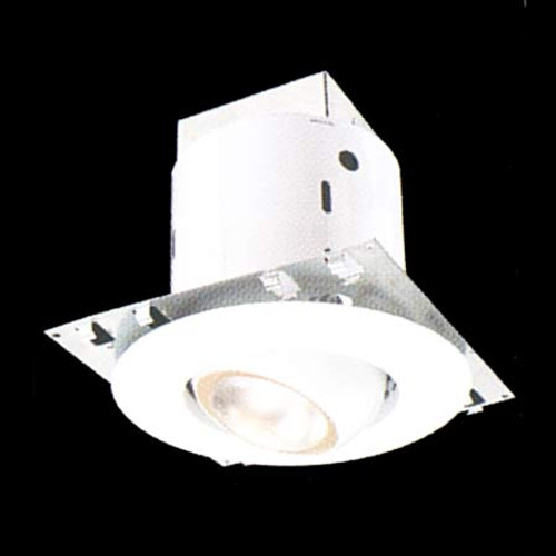 Thomas Recessed Kit with 5 Inch Non-Ic Housing White Adjustable Eyeball Trim Dy6410
