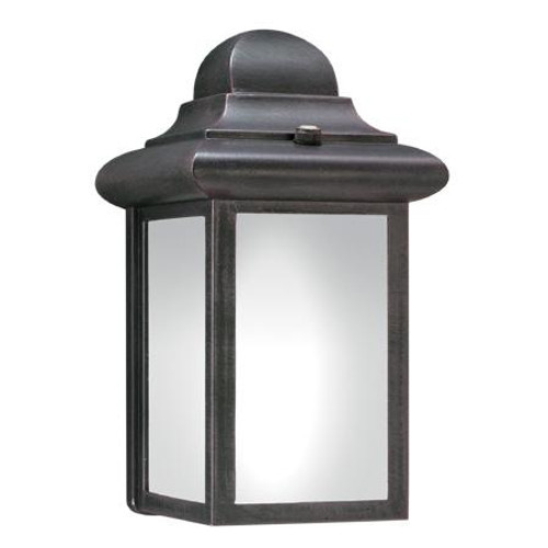 Thomas Windbrook 9In 1 Light Fluorescent Die-Cast Aluminum Outdoor Wall Lantern In Painted Bronze Finish Pl948063