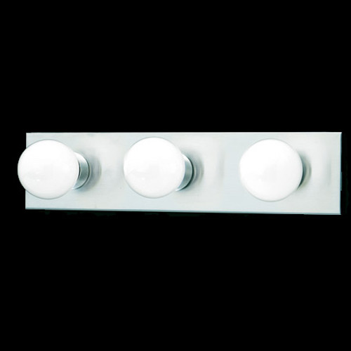 Thomas 3 Light Bath Fixture In A Brushed Nickel Finish Sl741378