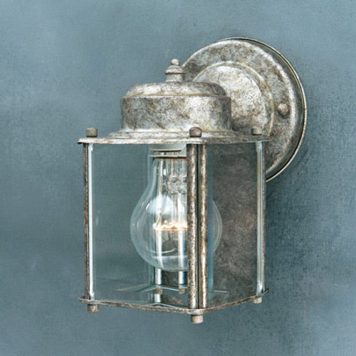 Thomas 1 Light, Painted Bronze Outdoor Wall Lantern With Clear BeveLED Glass Panels Sl946963