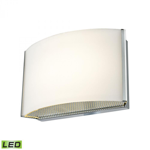Alico Pandora LED 1 Light LED Vanity In Chrome And Opal Glass Bvl911-10-15