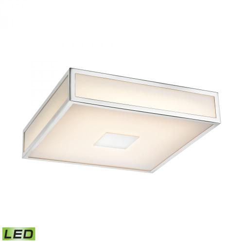 Alico Hampstead 1 Light LED Flushmount In Chrome Fml4000-10-15