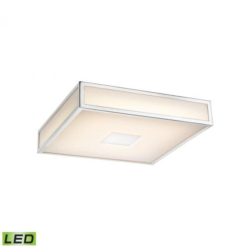 Alico Hampstead 1 Light LED Flushmount In Chrome Fml4100-10-15