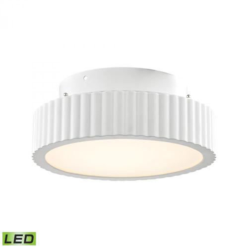 Alico Digby 10 Watt LED Flushmount In Matte White Fml600-10-30