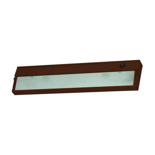 Alico Zeelite 2 Lamp Cabinet Light In Bronze And Diffused Glass Hz317Rsf