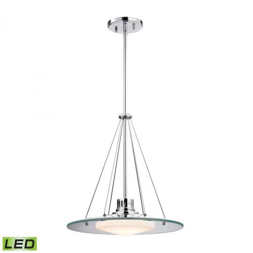 Alico Tribune LED Chrome Pendant Light-LC414-PW-80