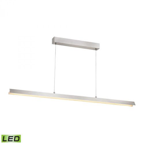 Alico Tent 1 Light Aluminum LED Linear Suspension Chandelier-LC4210-0-98