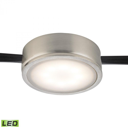 Alico Tuxedo 1 Light LED Undercabinet Light In Satin Nickel Mle201-5-16M