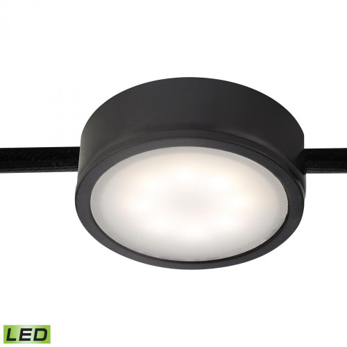 Alico Tuxedo 1 Light LED Undercabinet Light In Black Mle201-5-31