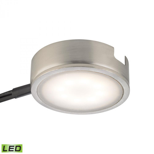 Alico Tuxedo 1 Light LED Undercabinet Light In Satin Nickel With Power Cord And Plug Mle301-5-16M