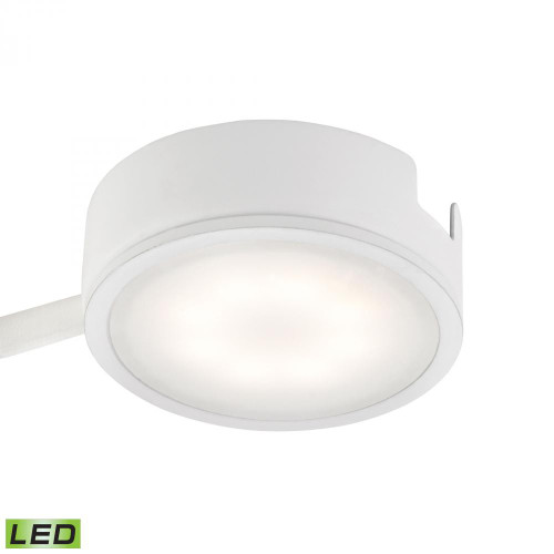 Alico Tuxedo 1 Light LED Undercabinet Light In White With Power Cord And Plug Mle301-5-30