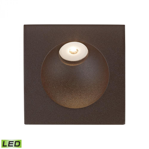 Alico Zone LED Step Light In Matte Brown Wsl6210-10-45