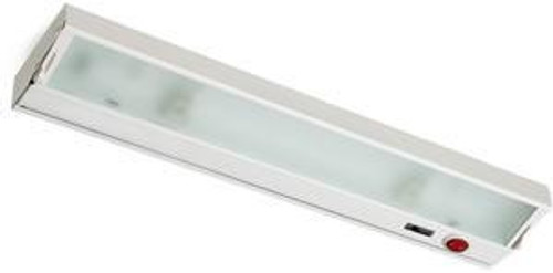 Alico Zeeline 6 Lamp Xenon Cabinet Light In White With Diffused Glass Zl048Rsf