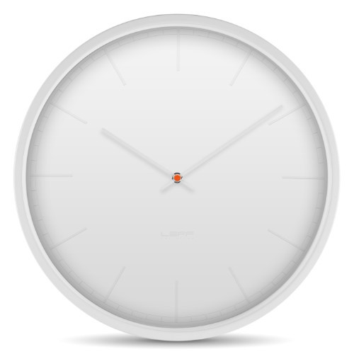 Leff Amsterdam Wall Clock Tone35 White Index