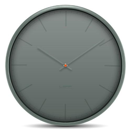 Leff Amsterdam Wall Clock Tone35 Grey Index