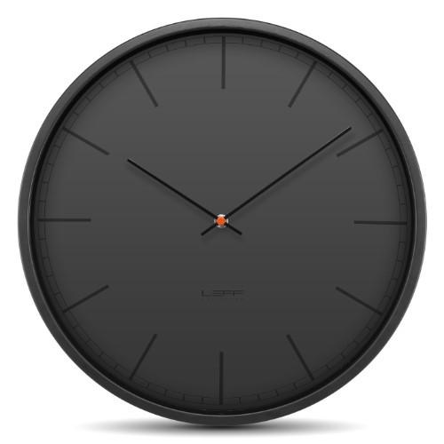 Leff Amsterdam Wall Clock Tone35 Black Index