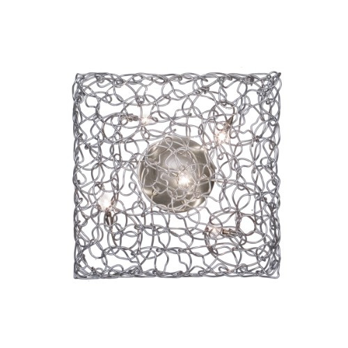 Harco Loor Carre Wall Sconce/Semi-Flushmount Ceiling Light 5-CARREWL/PL5