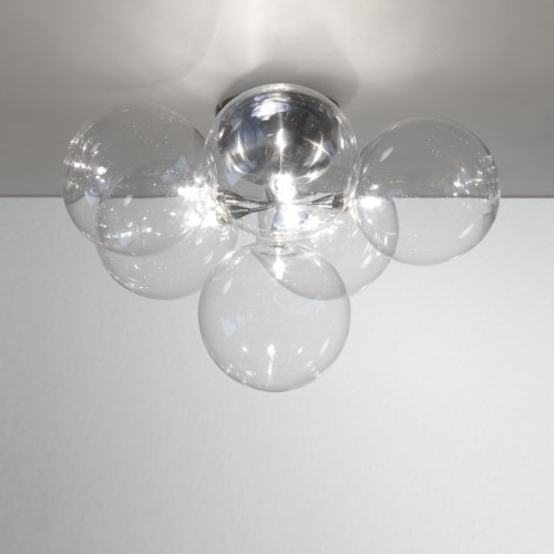 Harco Loor Cluster Wall Sconce/Semi-Flushmount Ceiling Light 6-CLUSTERWL/PL6