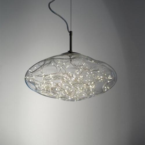 Harco Loor Snowball LED 2 Light4 stainless steel&glass Mini Chandelier-STARDUSTHL24-LED