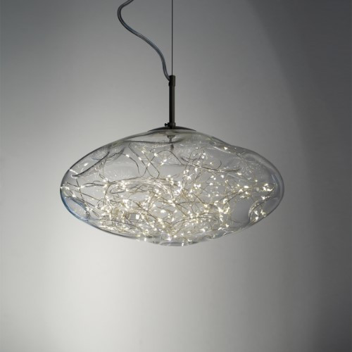 Harco Loor Solange LED 2 Light9 steel Mini Chandelier-STARDUSTHL29-LED