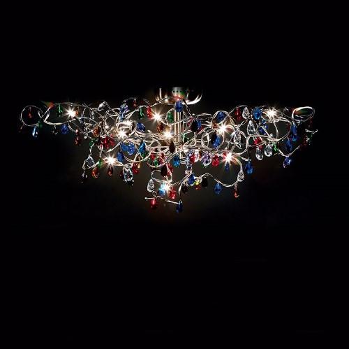 Harco Loor Tiara Flushmount Ceiling/Wall Light 12 LED-TIARAPL/WL12-LED