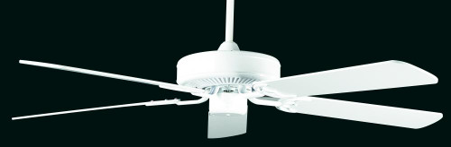 Sunset California Home 52-Inch 5-Blade White Ceiling Fan CF52242-30