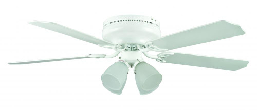 Sunset Montego Bay 52-Inch White Ceiling Fan CF52148-30