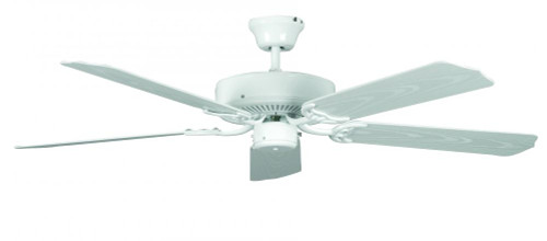 Sunset Porch 52-Inch 5-Blade Traditional White Ceiling Fan CF52264-30