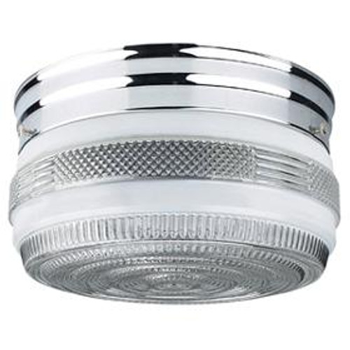 Sunset 4 Light Silver Flushmount Ceiling Light F3277-15