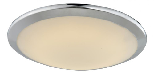 Avenue Light Cermack St 1 Light Chrome Flushmount Dome LED Ceiling Light-HF1102-CH