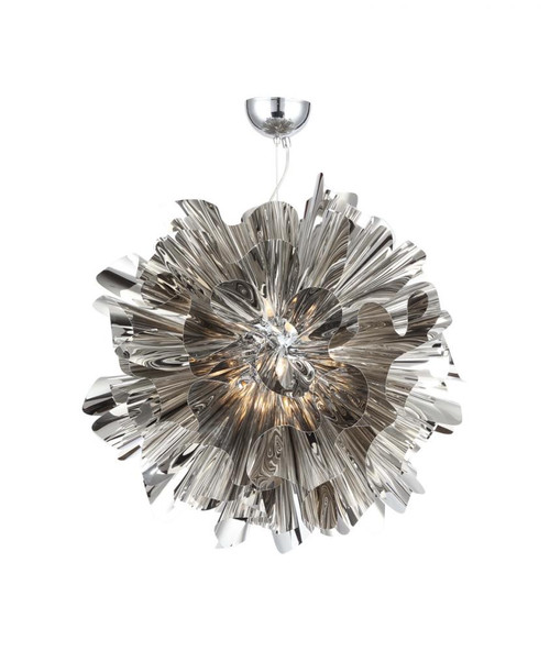 Avenue Light Bowery Lane 7 Light LED Chrome Chandelier-HF1302-CH