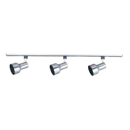 Sunset 4 Foot Track With 3 Step Cyl Heads Satin Nickel-F2920-80