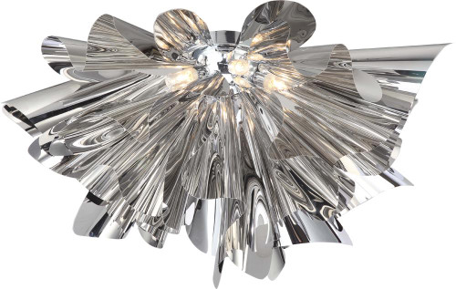 Avenue Light Bowery Lane 7 Light Silver LED Ceiling Light-HF1303-CH